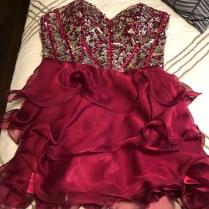 Dresses & Skirts - Prom dress, worn one time in perfect condition!